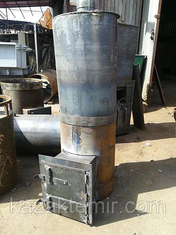 """Банная печь """"Круглая 530"""" с нержавеющим баком, фото 2"""