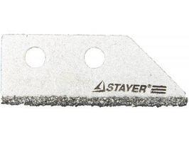 Лезвие сменное с карбидным напылением для скребка 33415 Stayer  (2шт)