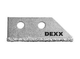 Лезвие сменное с карбидным напылением для скребка 33413 Dexx  (1шт)