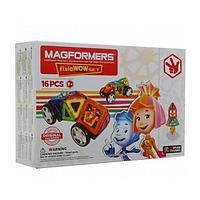 Магнитный конструктор Magformers Wow Set (16 деталей), фото 1