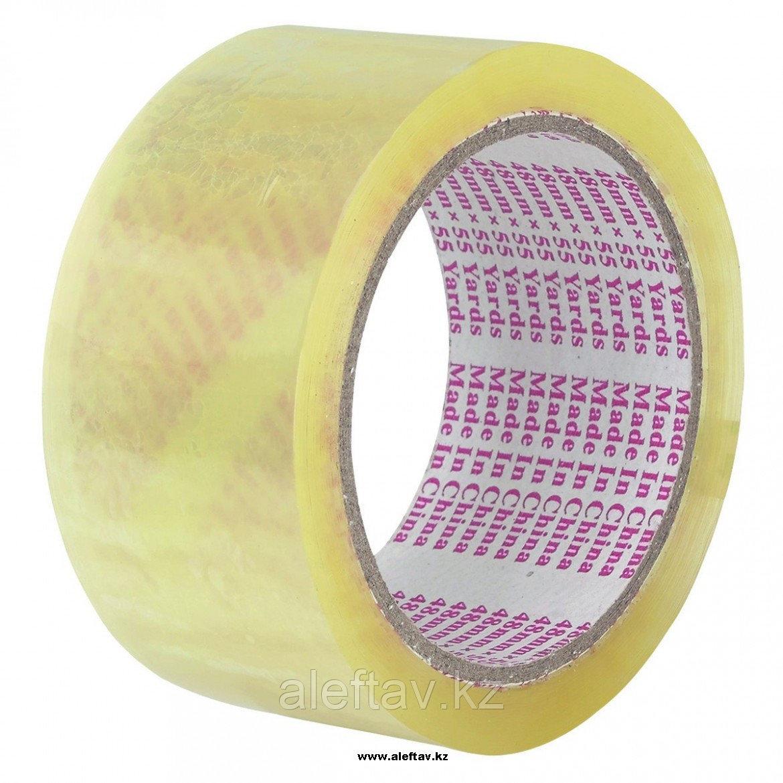 Упаковочный  скотч  прозрачного цвета 48ммХ66мХ43мкм