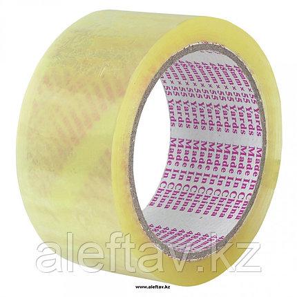 Упаковочный  скотч  прозрачного цвета 48ммХ66мХ43мкм, фото 2