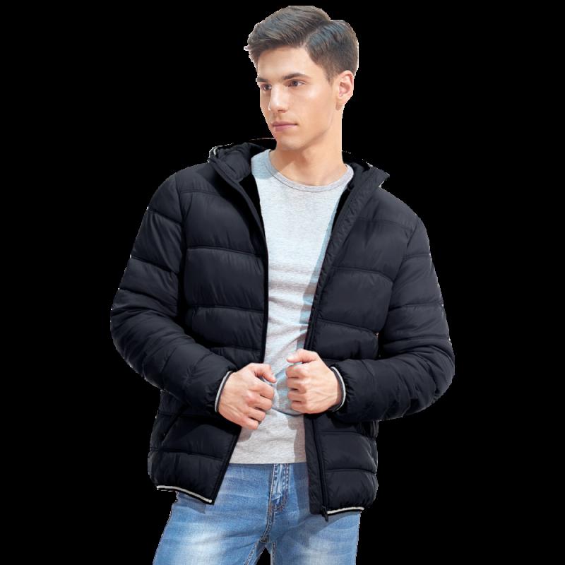 Мужская куртка с капюшоном, StanAir, 81, Чёрный (20), XXL/54