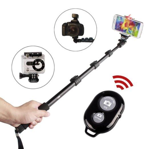 Монопод для телефона, фотоаппарата, видеокамеры и GoPro