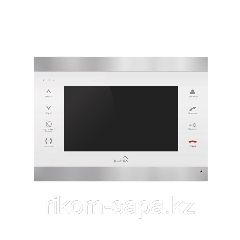 SL-07 M Видеодомофон серебро+белый