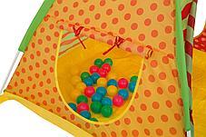 Детский игровой домик-палатка Bestway 68080 (с шариками, размеры 112х112х90 см), фото 3