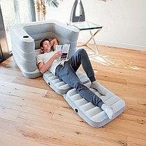 Надувное кресло-кровать трансформер Bestway 75065, фото 3