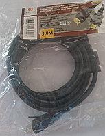 Шнур HDMI штекер - HDMI штекер  3м.