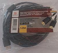 Шнур HDMI штекер - HDMI штекер  5 м.