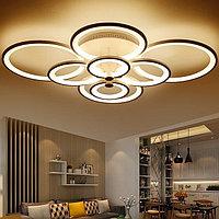 LED люстра 8 Колец