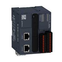 Модульный базовый блок М221-16IO транзист источник, пружинные разъемы