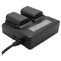 Двойное зарядное устройство для Canon LC-E6