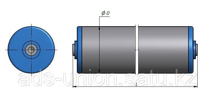 Ролик конвейерный (изготовление)