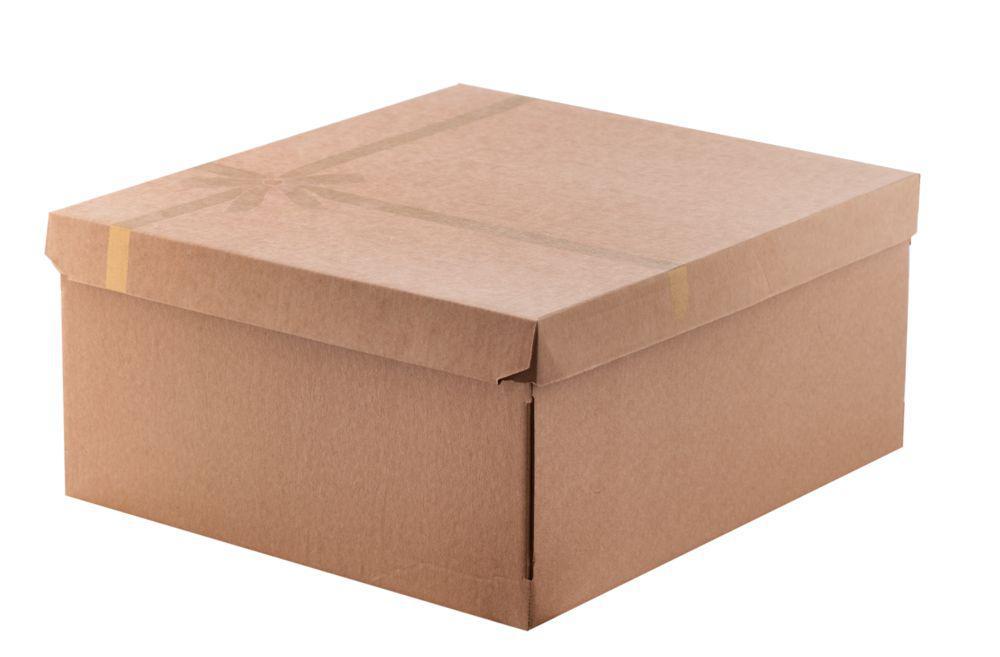 Коробка подарочная Крафт 31х28х14 см