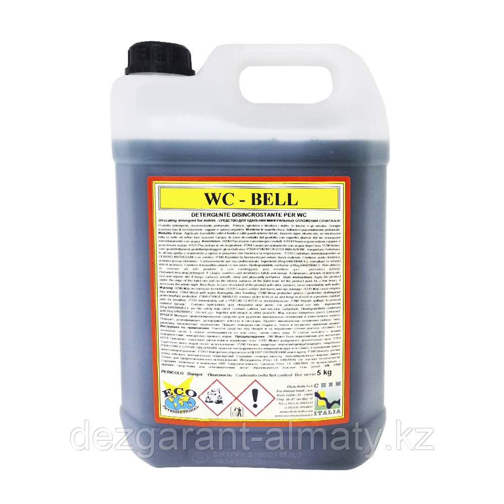Очиститель для сантехники Chem-Italia WC Bel 5