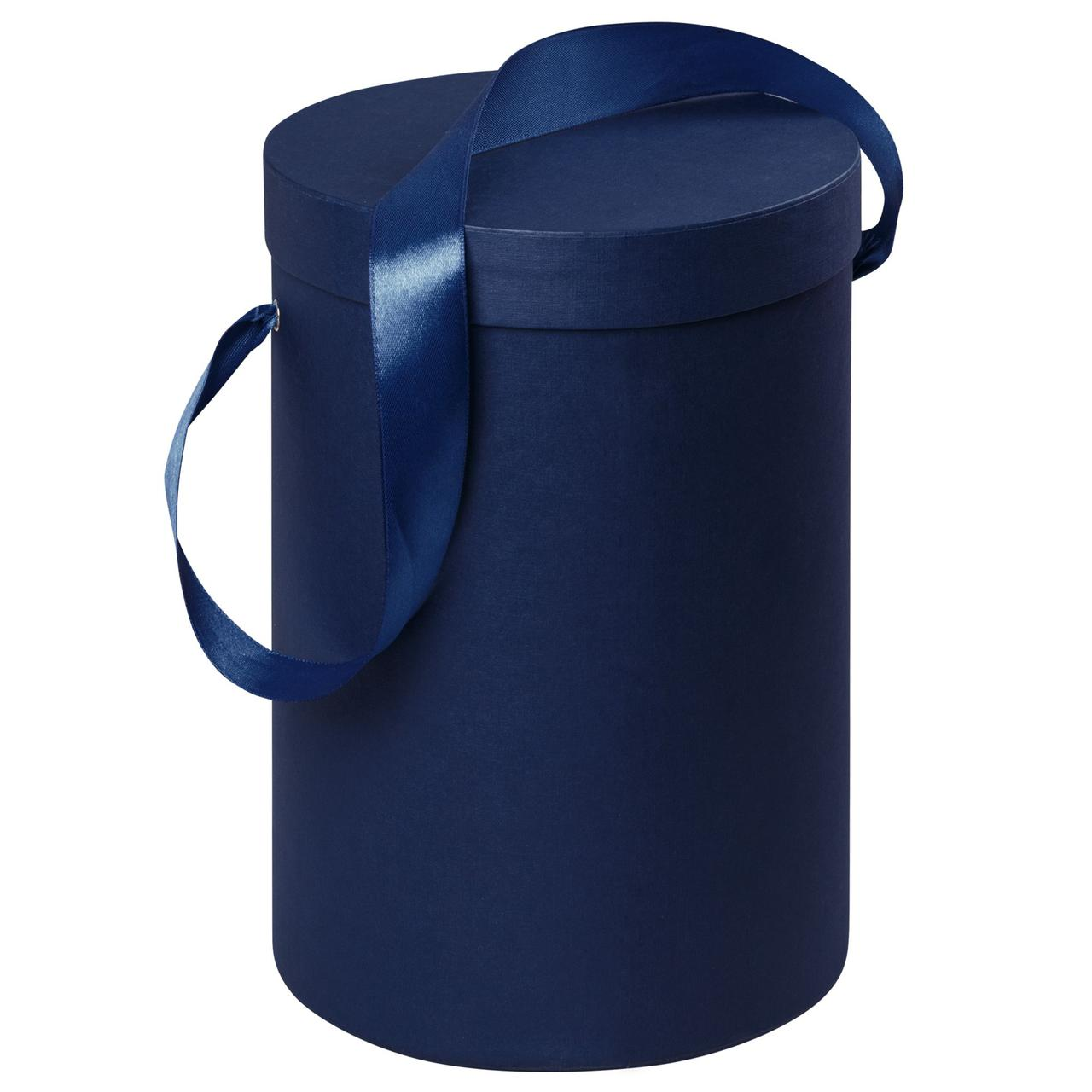 Подарочная коробка Rond, синяя