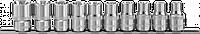 """912610 Набор головок торцевых 1/2""""DR на держателе, внешний TORX, E8-E24, 10 предметов"""