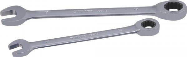 Ключ гаечный комбинированный трещоточный SNAP GEAR, 19 мм 035019