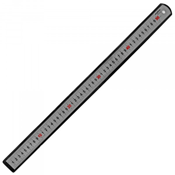 A90008 Линейка металлическая, 500 мм