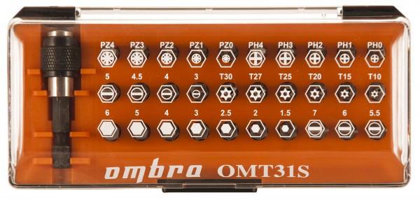 OMT31S Набор вставок-бит, 31 предмет