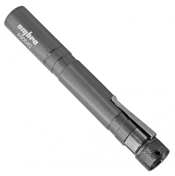 A90040 Фонарь светодиодный, карманный, с фокусированным световым пучком, L-140 мм, O-15 мм
