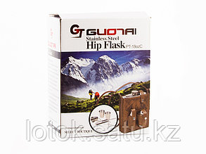 Подарочный набор Hip Flask 510 мл (Фляжка, стопка, нож)