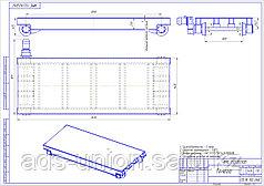 Тележка передаточная ТЖА 16 г/п 5 тонн (изготовление)