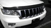 Мухобойка (дефлектор капота) на Jeep Grand Cherokee/Джип Гранд Чероки 2011-