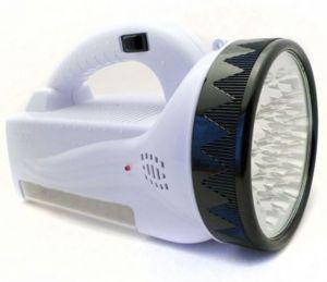 Фонарь-прожектор ручной аккумуляторный YJ-222 + боковая панель