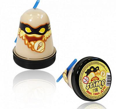 Жвачка для рук Ninja Slime с трубочкой, 130 гр (аромат мороженого)