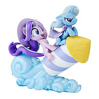 "Hasbro My Little Pony Коллекционный набор ""Пони на Рокете"" Трикси Луламун и Старлайт Глиммер"
