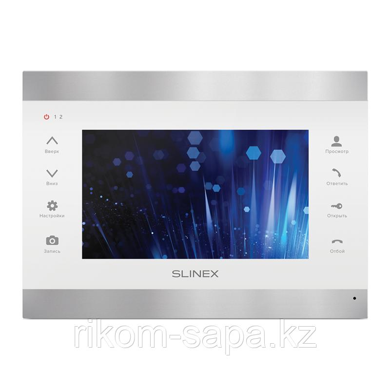 SL-07IP Видеодомофон с переадресацией на смартфон серебро+белый