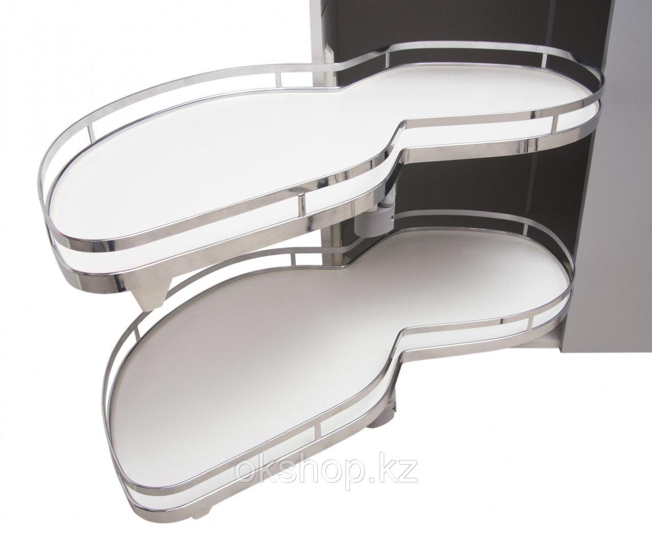 Выкатная корзина для кухни волшебный уголок LOTUS KRM10/900-1000/L