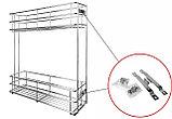 Выдвижная корзина для кухни BELLA KR25/1/3/150/L, фото 2