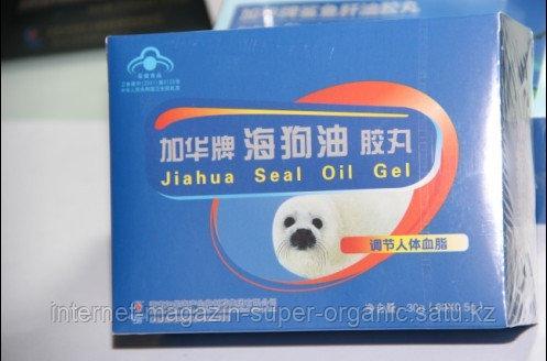 Жир морского котика, 60 капсул по 0,5 гр