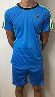 Форма футбольная Adidas (голубая)