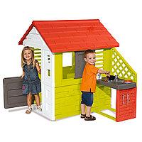 Домик игровой Smoby с кухней 810702