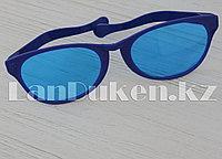 Большие карнавальные очки (с синей оправой)
