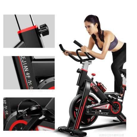 Велотренажер Spin Bike (черный) YRW-80
