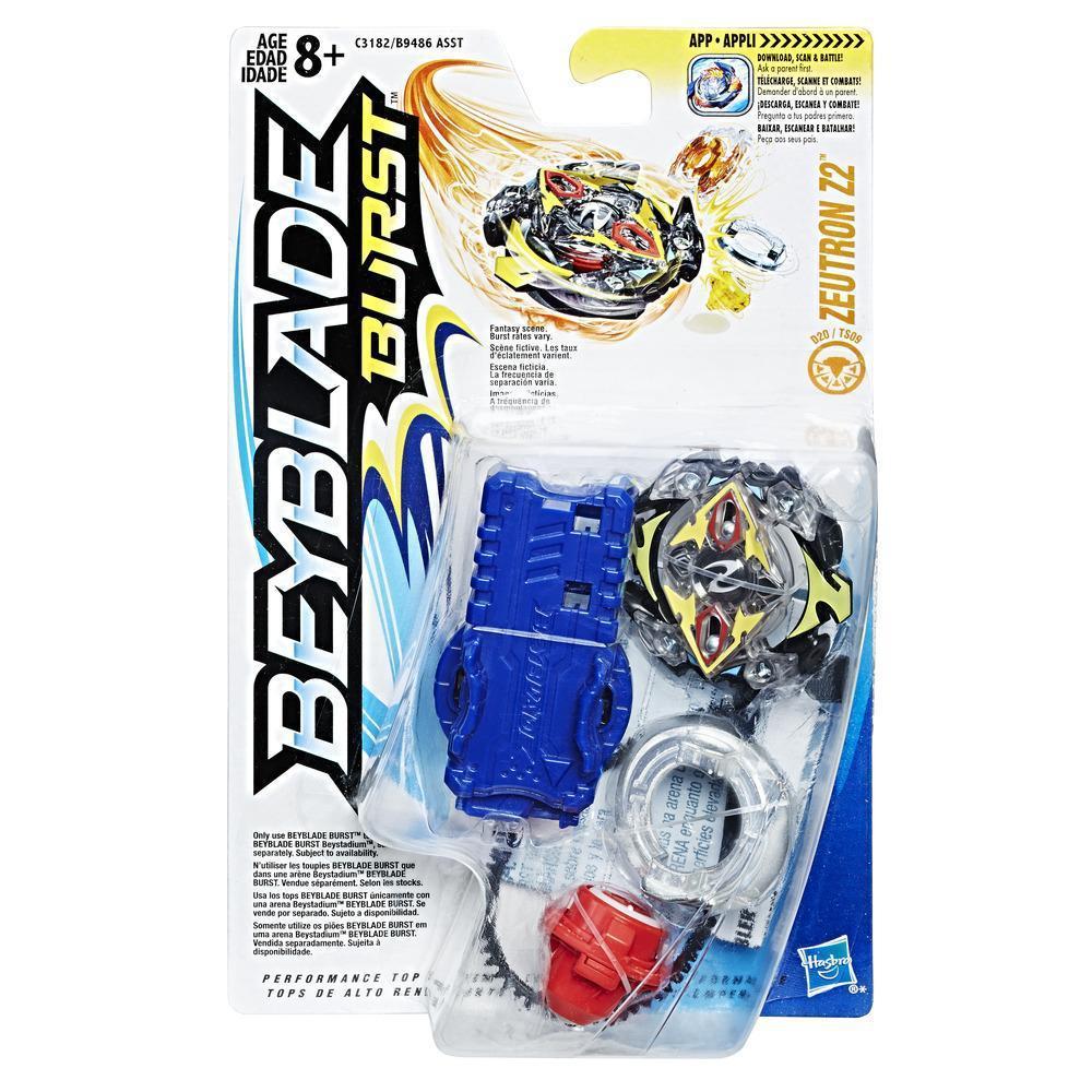 Hasbro Bey Blade Burst Волчок с пусковым устройством Бейблэйд Zeutron Z2 D20/TS09