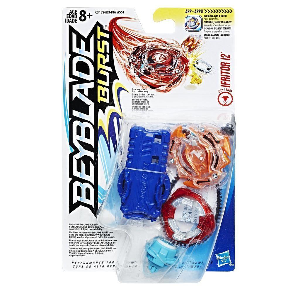 Hasbro Bey Blade Burst Волчок с пусковым устройством Бейблэйд Ifritor I2 D19/TB05