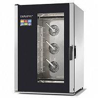 Пароконвектомат PIRON PF1410 EXPLORA LT (10 GN1/1 или 600х400, 15,8кВт, 810x900x1210 мм)