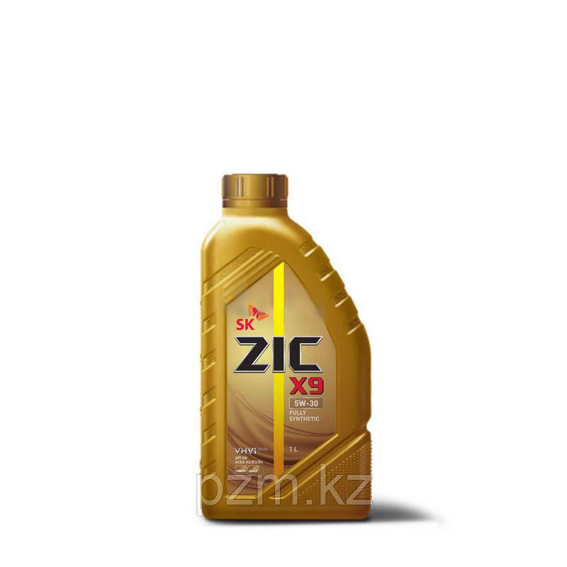 ZIC    X9  5w30  1 литр Полностью синтетическое моторное масло для бензиновых и дизельных двигателей