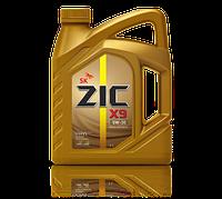 ZIC    X9  5w30  4 литрa Полностью синтетическое моторное масло для бензиновых и дизельных двигателей