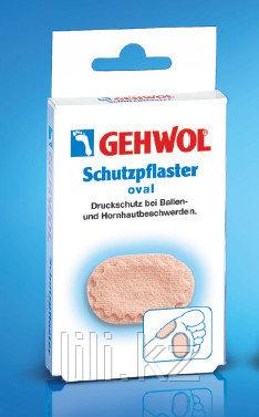 Овальный защитный пластырь Schutzpflaster Oval 4 шт.