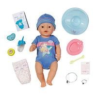 ZAPF 820-445 Игрушка BABY born Кукла-мальчик Интерактивная, 43 см, кор. , фото 1
