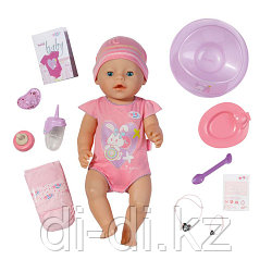 ZAPF 820-414 Игрушка BABY born Кукла Интерактивная, 43 см, кор.