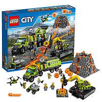Конструктор Lego City База исследователей вулканов 60124