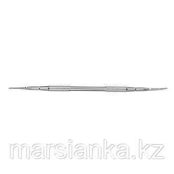 P7-30-03 (ЛВ-03ст) Лопатка педикюрная Staleks (пилка прямая+пилка с загнутым концом)