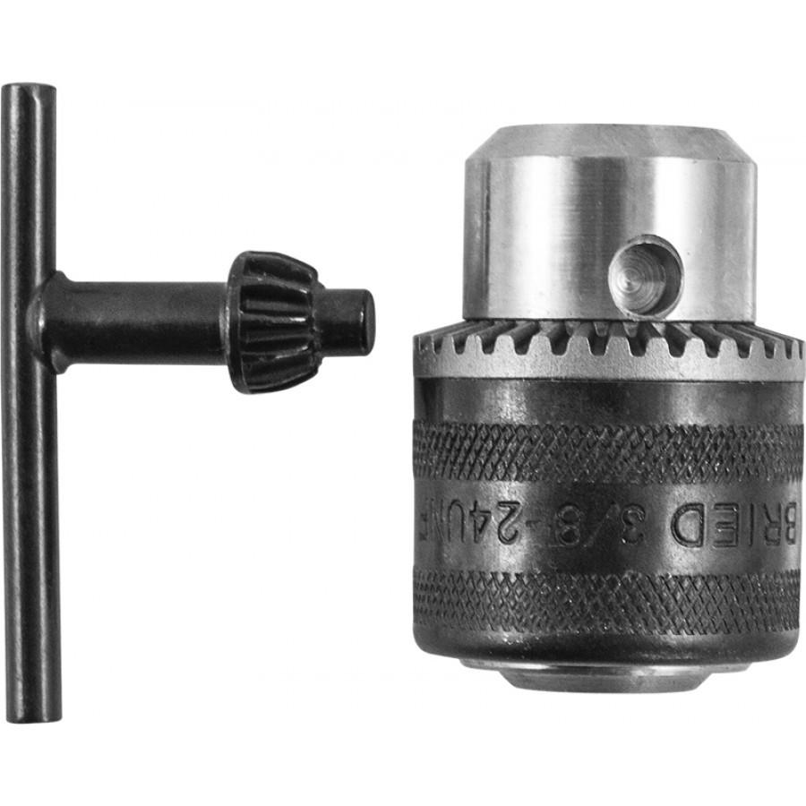 RKS31018 Патрон трехкулачковый с ключом в сборе для дрели пневматической RAD1018